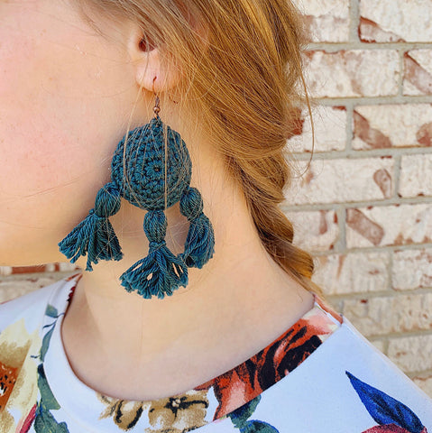 Daydreamer Earrings The Woolflower Co
