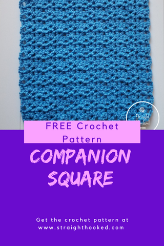 Straight Hooked Companion Square FREE Crochet Pattern