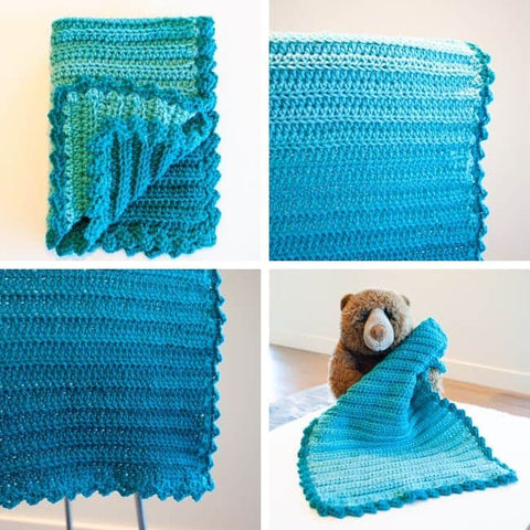 Ombre security blanket Crafting Each Day StraightHooked