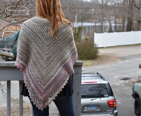 Hope Whispers Prayer Shawl Ambassador Crochet Straight Hooked