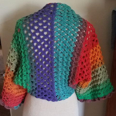 StraightHooked Spring Breeze Shawl by tester