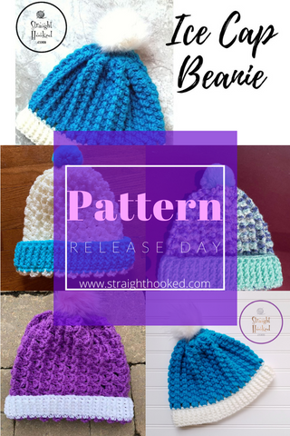 Straight Hooked Ice Cap Beanie Pattern Release