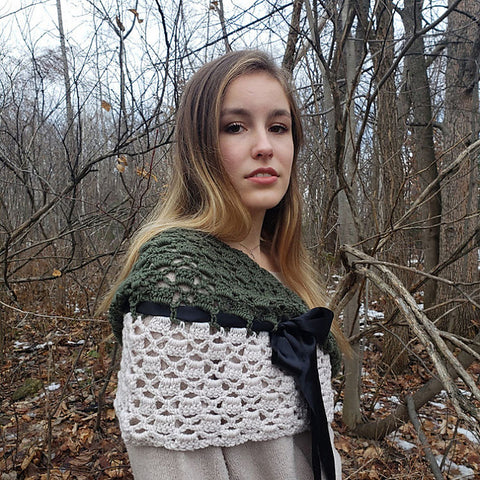 Marlys Chic Shoulder Wrap ACCRochet Straight Hooked
