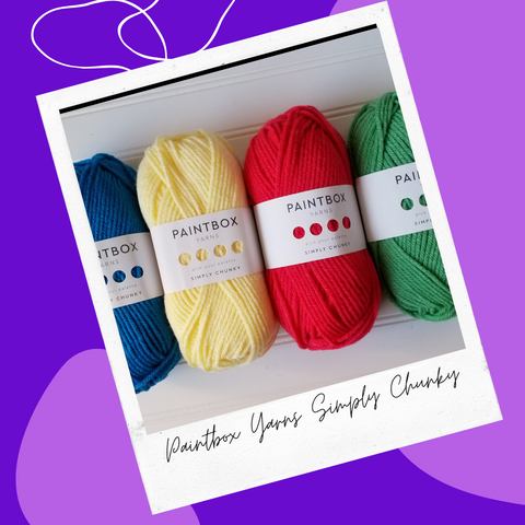 Straight Hooked Paintbox Yarns SImply Chunky