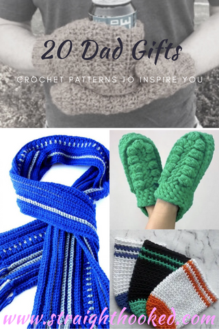 Straight Hooked 20 Dad Gift Crochet Patterns