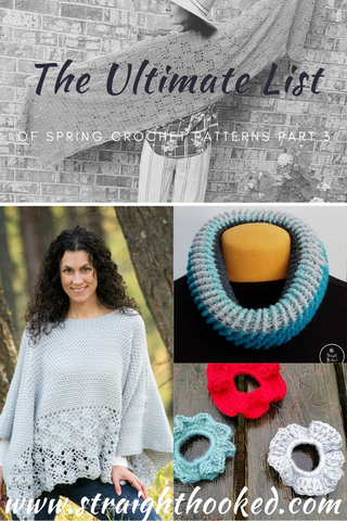 Straight Hooked Ultimate List of Spring Crochet Patterns