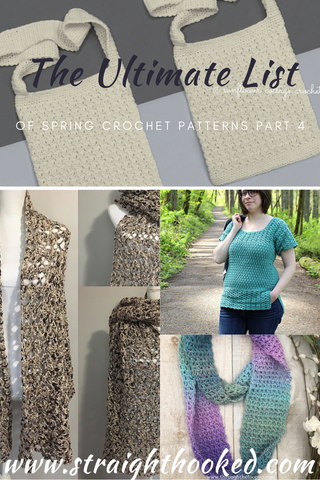 Straight Hooked Ultimate Spring Crochet Patterns Part 4