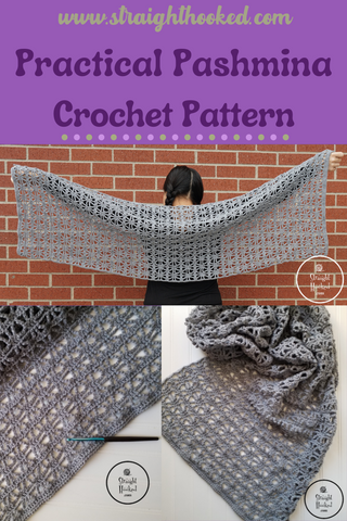 Straight Hooked Practical Pashmina Pattern Release