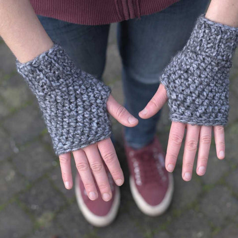 Basic Fingerless Gloves Raffmusa Designs