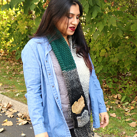 Scrappy Scarf Noors Knits