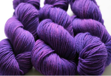 Breaking Yarn Marie Schrader purple