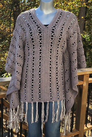 Straight Hooked X-Capade Poncho Creations by Courtney