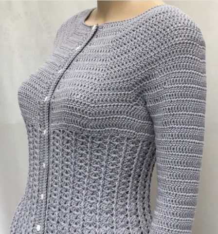 Straight Hooked Kamila Cardigan Hooked On Patterns
