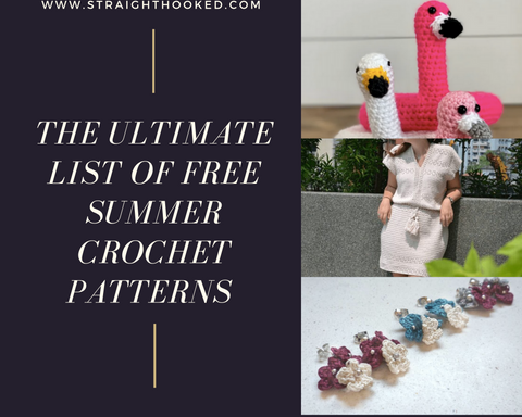Straight Hooked Ultimate List of FREE Summer Crochet Patterns