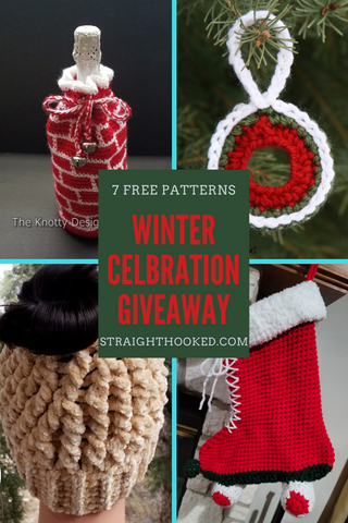 Winter Celebration Giveaway Straight Hooked