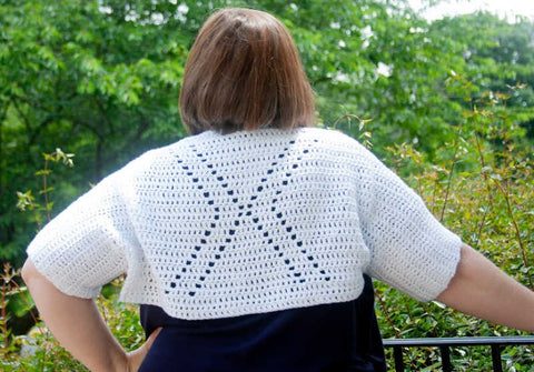 X-tra Shrug Stitch In Progress Straighthooked