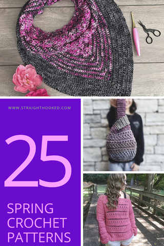 Straight Hooked 25 Spring Crochet Patterns