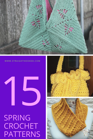 Straight Hooked 15 Spring Crochet Patterns