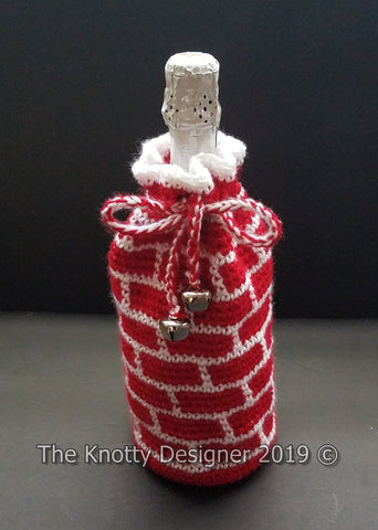 Chimney Bottle Bag The Knotty Designer