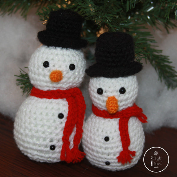 Crocheted Snowman