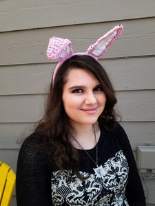 Poseable Bunny Ears Headband