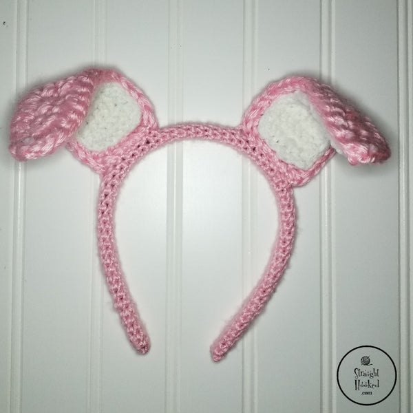 Poseable Bunny Ears Headband Pattern