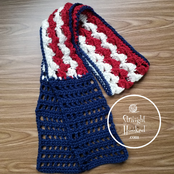 Stars and Stripes Head Wrap
