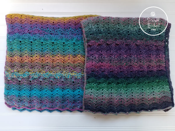 Mermaid Waves Summer Shawl