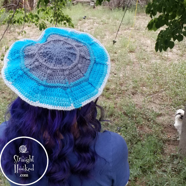 Berry Fun Beret crochet pattern