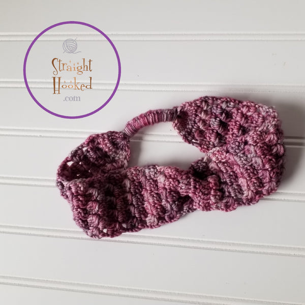 Ice Cap Headband crochet pattern