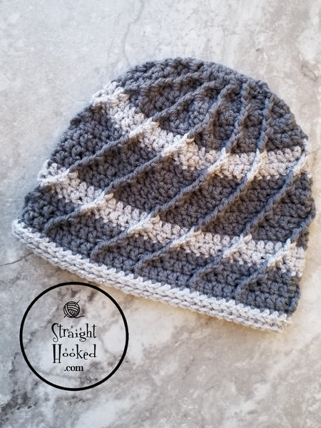 Brain Freeze Beanie crochet pattern