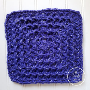 Dolphin Stitch Square crochet pattern