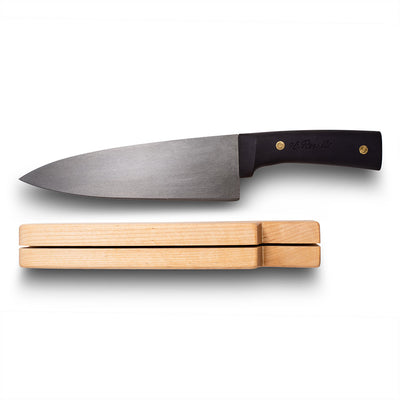 Chef knife, silicon handle