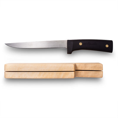 Fillet knife, silicon handle