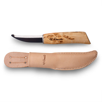 Opening knife, round edge