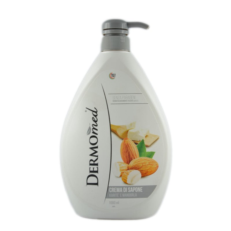 Dermomed- Sapone mani Karitè e Mandorla 1000ml pH 5.5