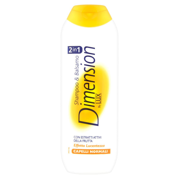 Dimension- 2 in 1 Shampoo Balsamo Capelli normali 250ml