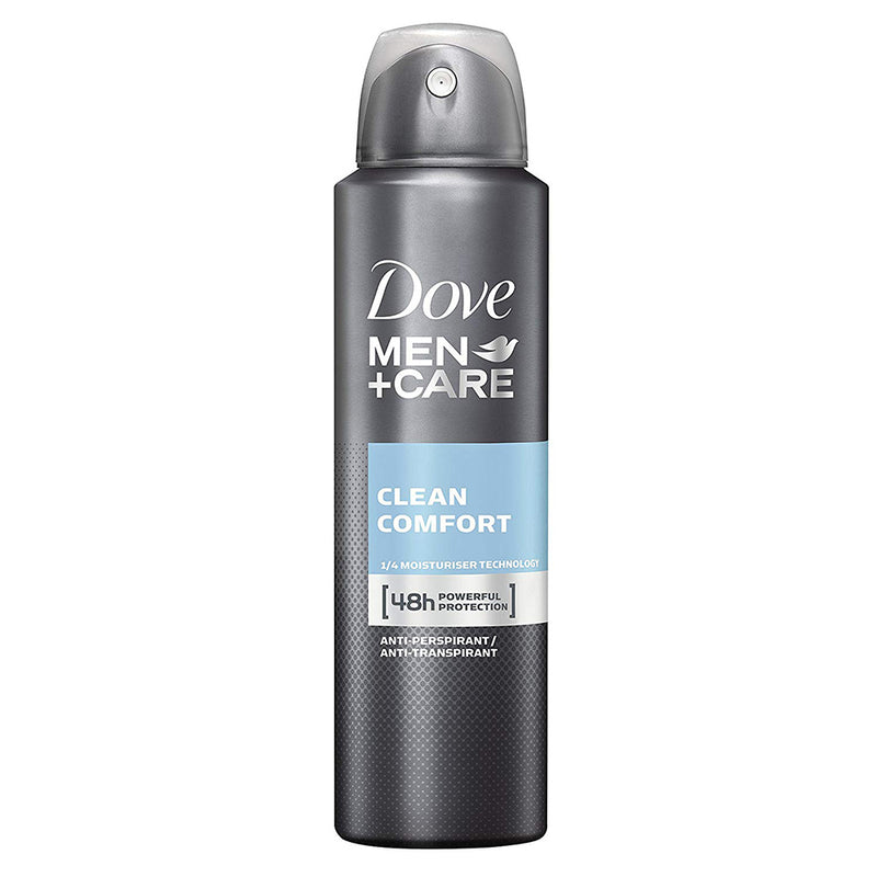 Dove Men+Care- Deodorante Spray Clean Comfort 48h 150ml