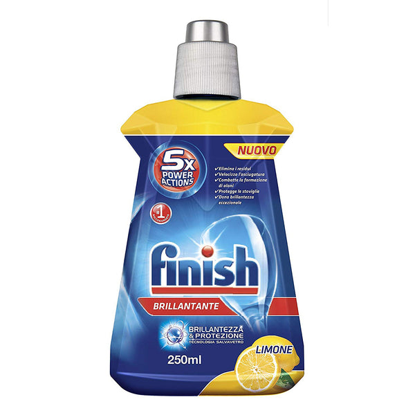 Finish- Brillantante per stoviglie 250ml Limone