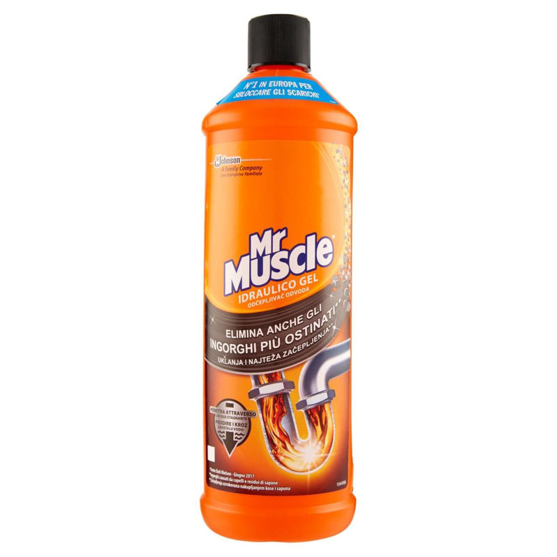 Mr Muscle-  Disgorgante idraulico Gel 1000ml