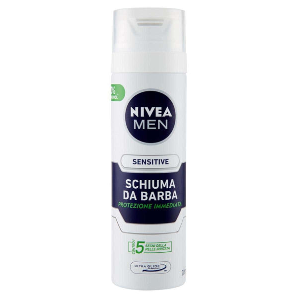 Nivea - Schiuma da barba Sensitive 200ml