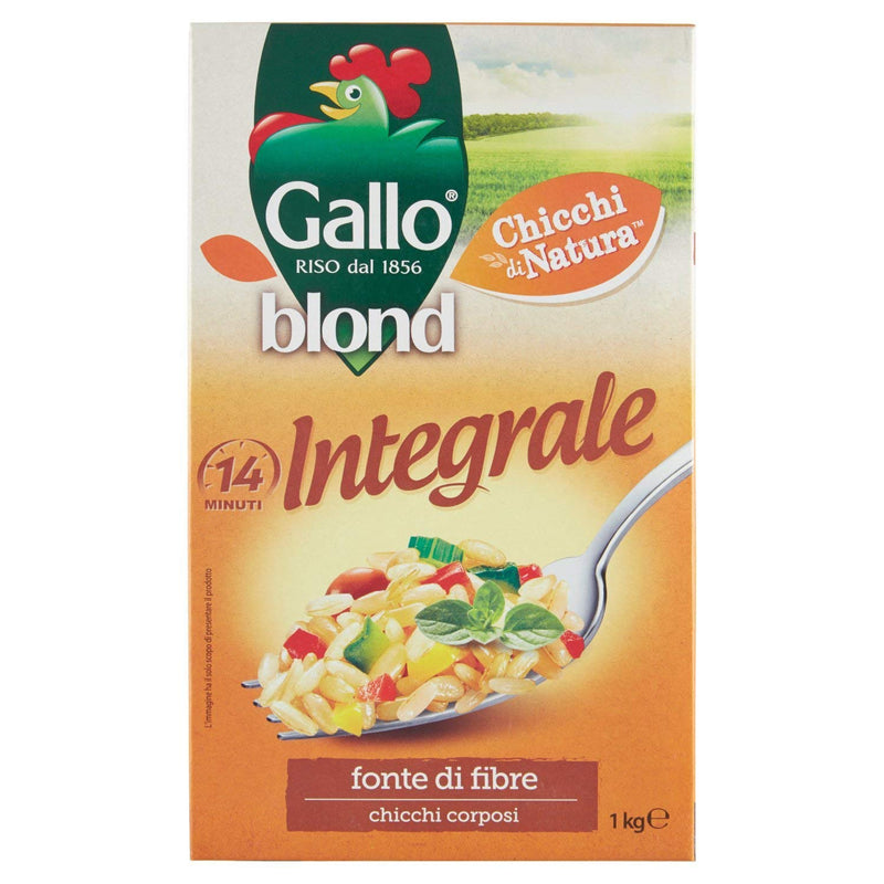 Gallo- Riso Blond Integrale- 1kg
