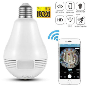 Wireless Light Bulb Camera