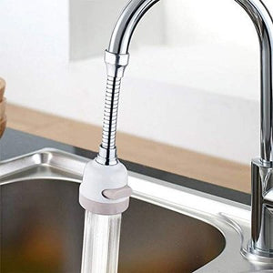 Flex 360° Rotatable Faucet Nozzle Sprayer Head with Hose Attachment - 3 Modes Adjustable for Kitchen