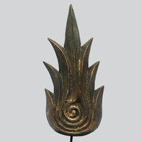 Carved Wooden Flame