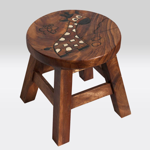 Children's Furniture Giraffe Brown