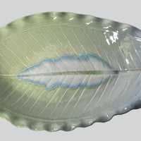 Leaf Plate with Top Handle