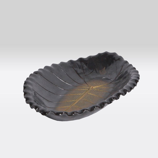 Oblong Leaf Trays- Dark