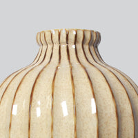 Tall Ceramic Brown Vase