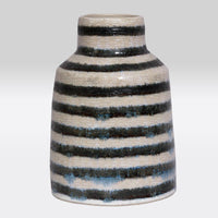 Black Stripe Vase